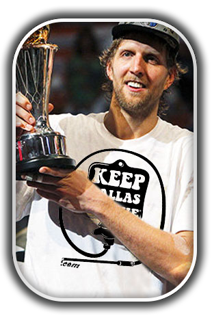 "Dirk ""The Douche"" Nowitzki - Keep Dallas Douche"