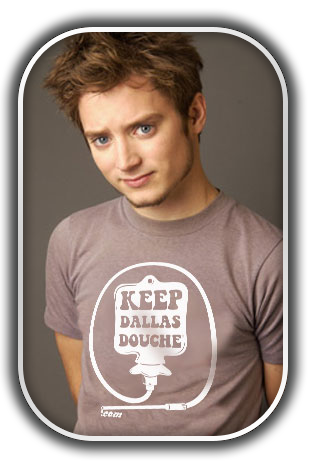"Frodo ""Douche"" Baggins - Keep Dallas Douche"
